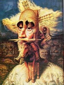 Dom quixote, personagem do livro de cervantes